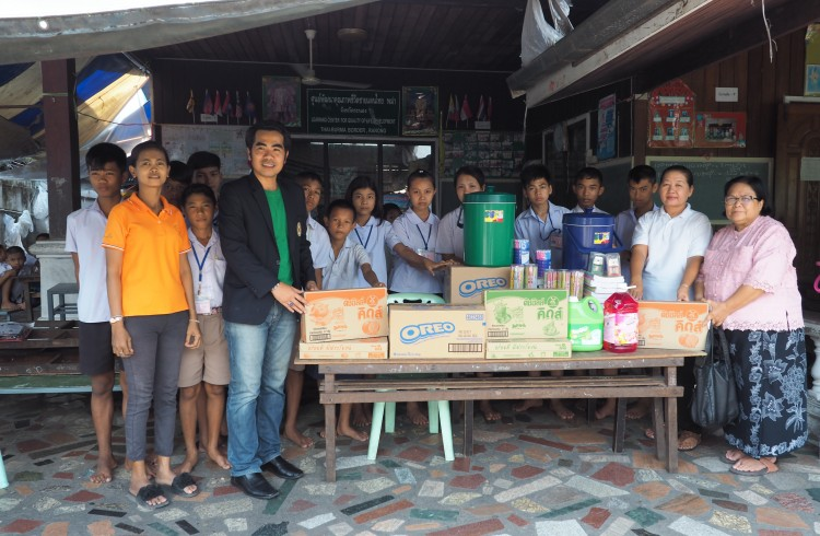 สถาบันวิจัยฯ ร่วมทำบุญศูนย์การศึกษาจ.ระนอง และลงพื้นที่บริการทางสังคมช่วยเหลือเด็กของศูนย์พัฒนาคุณภาพชีวิตชายแดนไทย-พม่า (แพสาคร)